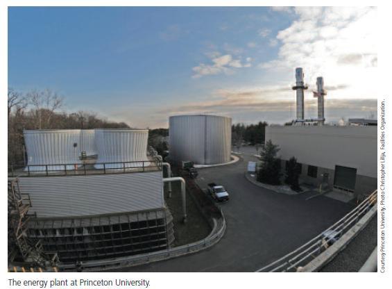 Energy plant Princeton University